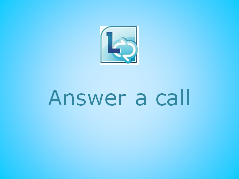 Answer a call
