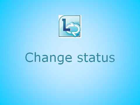 Change your status indicator
