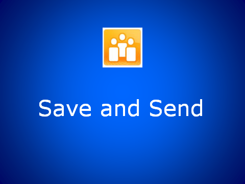 Save and Send a Document