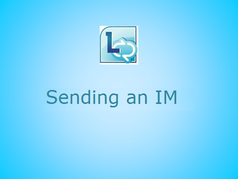 Send an instant message